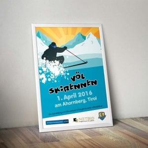A1 Plakat VÖL-Skirennen