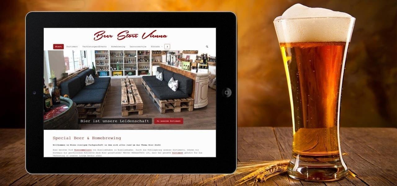 Portfolio Beer Store Vienna