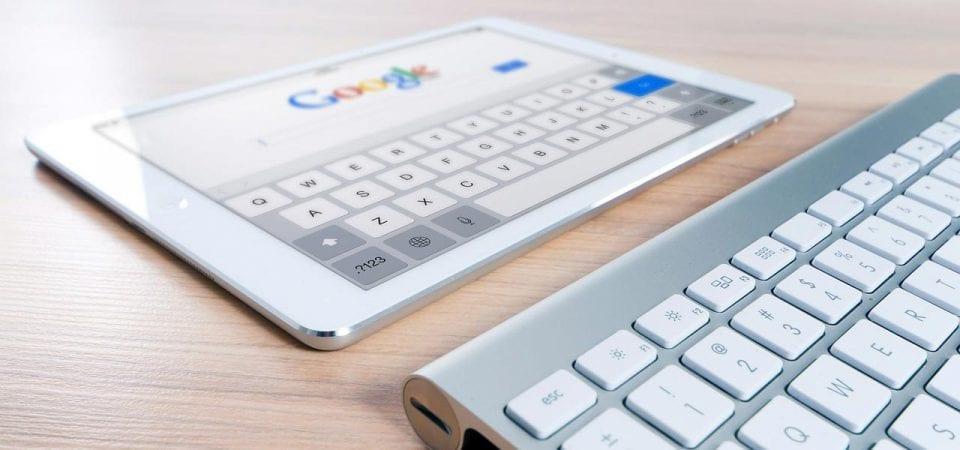 Symbolbild Google Suchmaschinenoptimierung