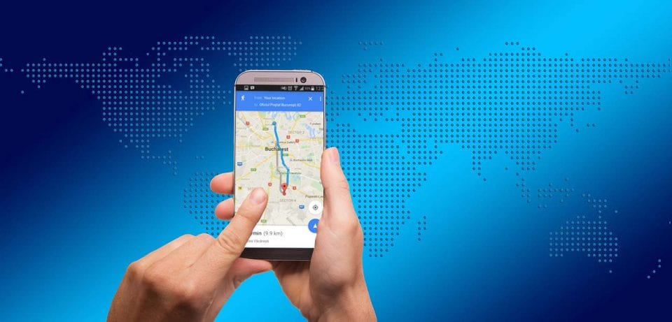 Symbolbild Smartphone Navigation