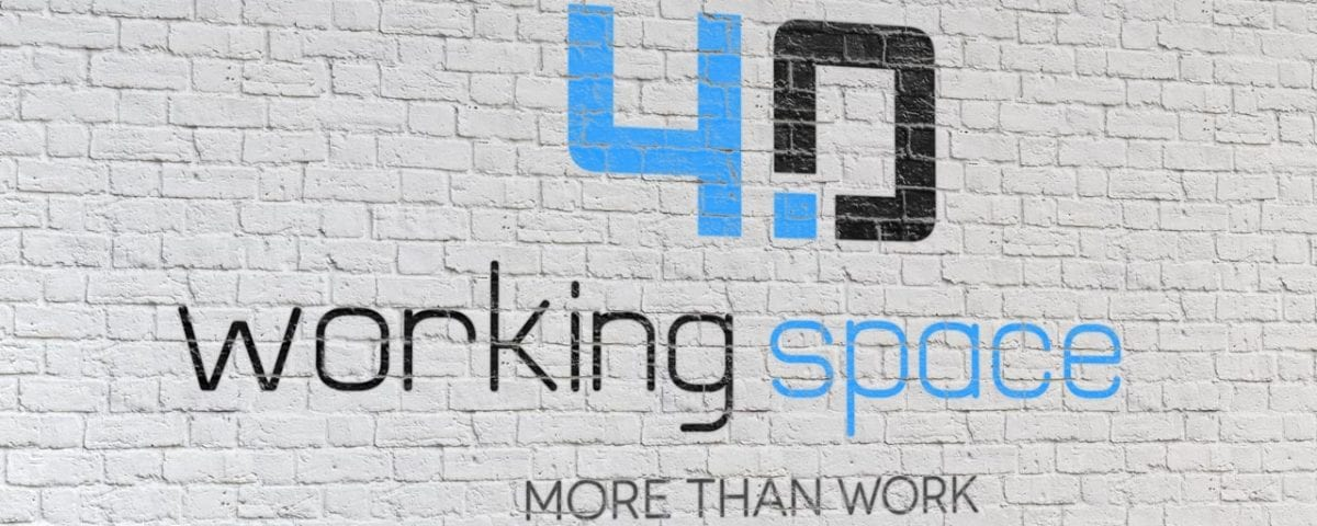 logo workingspace 40 on wall