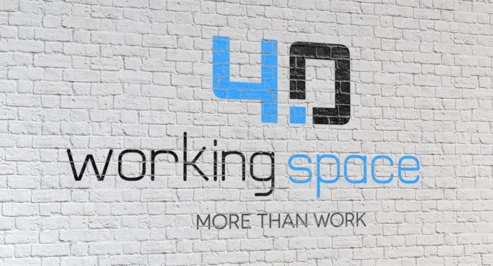 logo workingspace 40 on wall