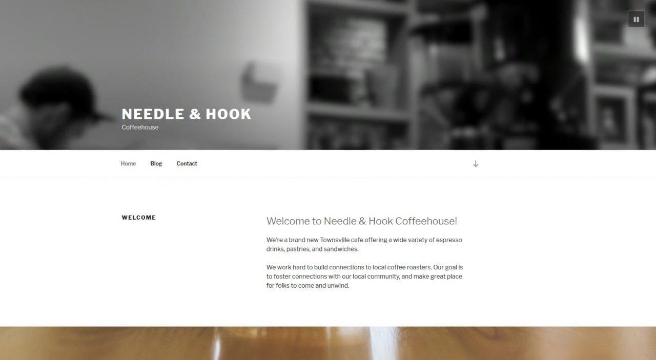 Screenshot WordPress Theme 2017