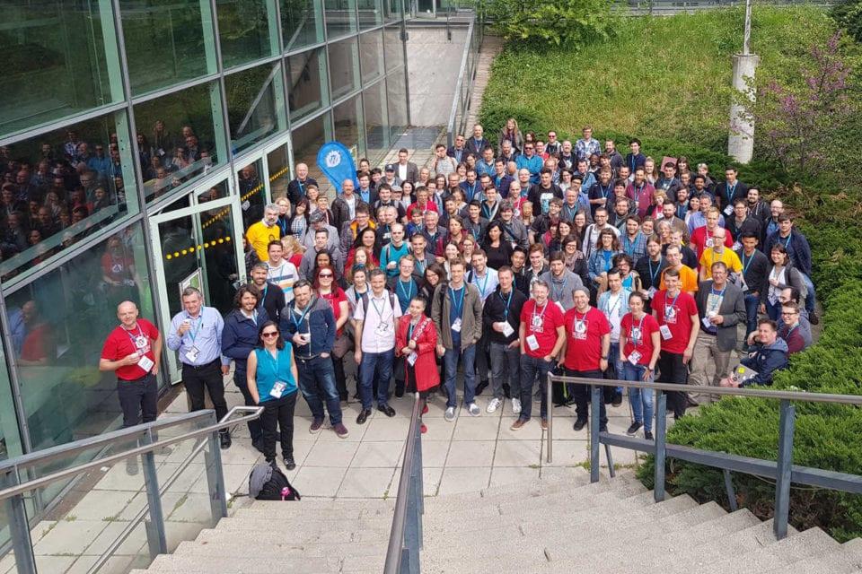 WordCamp Vienna 2019 Gruppenbild Foto: Denise VanDeCruze