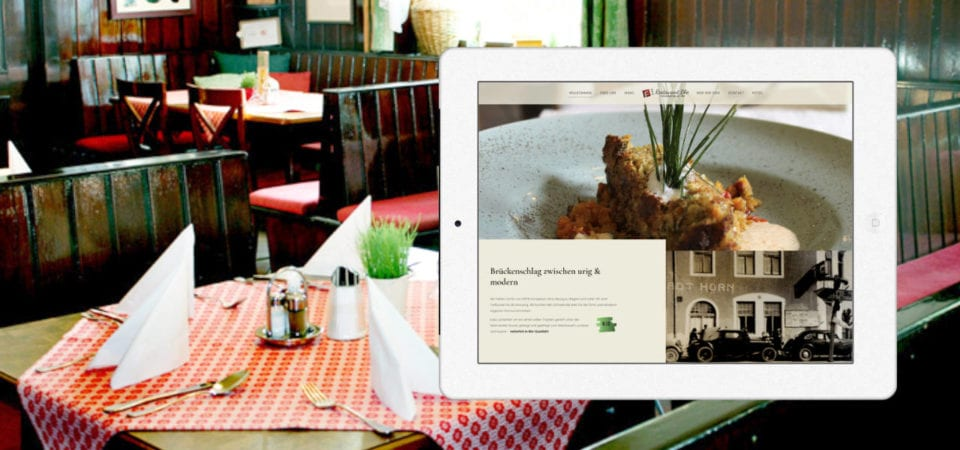 Portfolio - Restaurant Blie